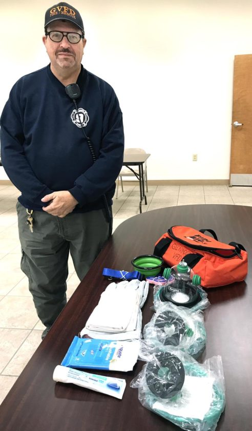 "Local volunteer fire department receives ""Fido bag"" | News"
