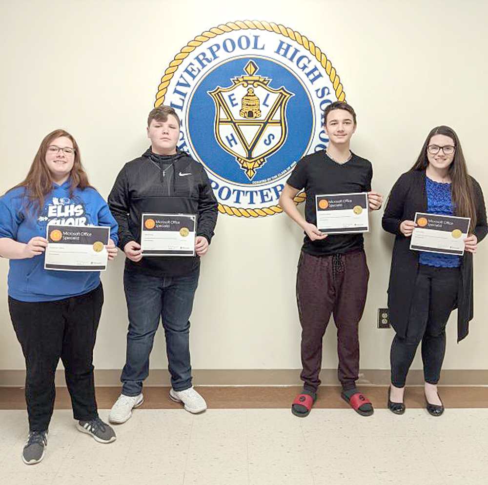 ELHS Students Receive Microsoft Certifications