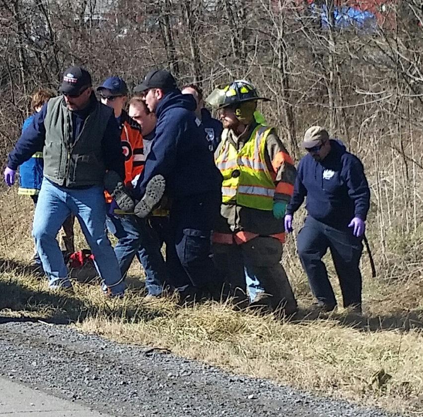 Man injured in jump from van | News, Sports, Jobs