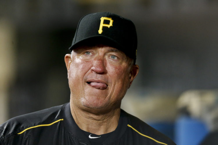 ASSOCIATED PRESS Pirates manager Clint Hurdle led the double-A Williamsport Bills at Bowman Field in 1991.