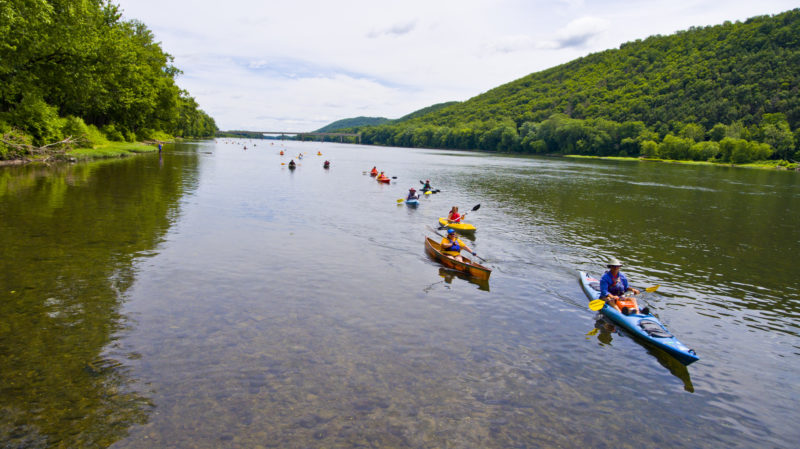 """After last year's inaugural Sunrise Sunset Susquehanna Paddle and Play, the Middle Susquehanna Riverkeeper has expanded this year's event to include more river-centric events. This year's program on Saturday will be a  daylong event with three parts: An 11-mile kayak paddle from Jersey Shore to Susquehanna State Park, activities along the river and an evening cruise aboard the Hiawatha. """"We really wanted to include as many people as possible,"""" said Middle Susquehanna Riverkeeper Carol Parenzan, who said that the point of the event is to celebrate the river and to raise awareness for its conservation. Last year's event was a 22-mile kayak paddle that lasted the entire day and, according to Parenzan, organizers wanted to give eventgoers more ways to enjoy the river. """"The main thing is allowing people to make a connection with the river,"""" Parenzan said. The 11-mile kayak paddle will include breakfast and lunch, guide and safety services and will start early in the afternoon. While the kayak paddle is not the only portion of the event this year, according to Parenzan, the number of attendees doubled in size. She added that registration is now closed.  Those who want to attend but stay on land, can spend the afternoon along the river at the Susquehanna State Park from noon to 5 p.m. During the land portion of the event, which is free, there will be family-friendly activities like live music, storytelling, balloon animals, photography lessons and interactive exhibits. Tickets for the evening cruise on the Hiawatha are still open. The Hiawatha ride will include bird-watching, river-gazing, music and ice cream."""