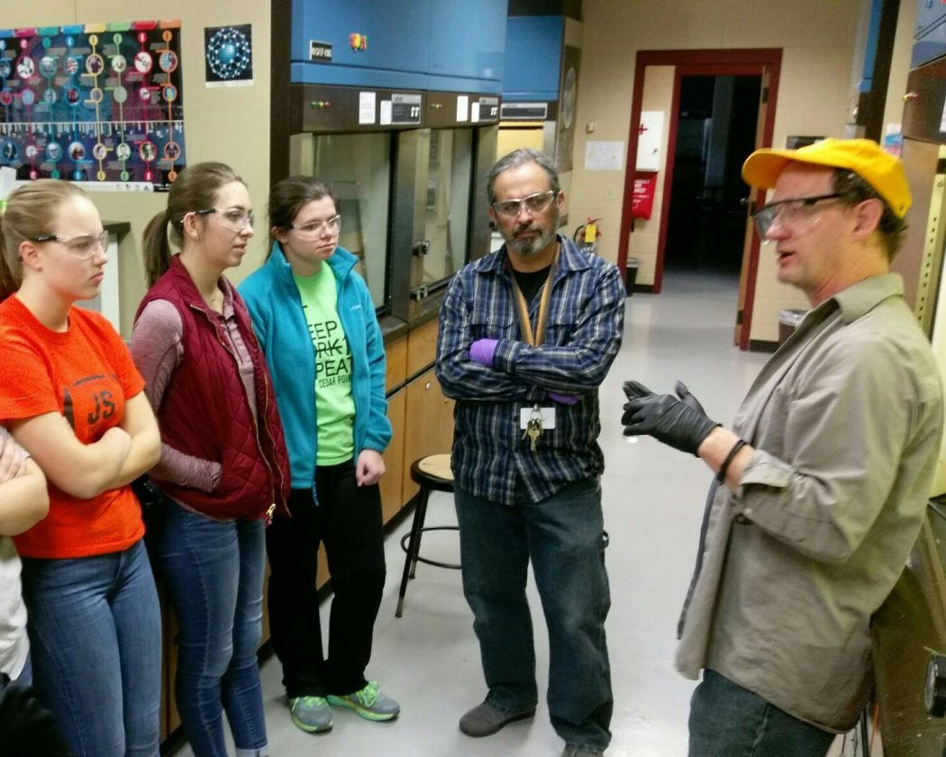 Students learn organic synthesis at college lab | News