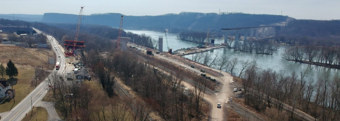 Obstacles fail to derail construction of thruway | News, Sports