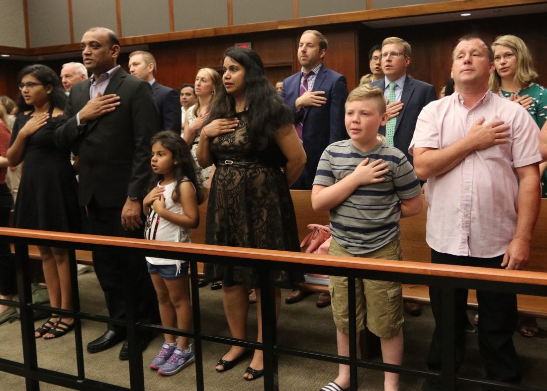 37 take part in naturalization ceremony | News, Sports, Jobs
