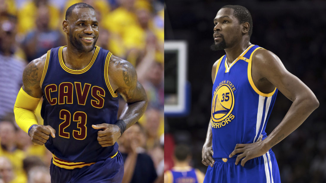 1033dc5c972f LeBron, KD Are Moving Toward Finals Reunion | News, Sports, Jobs - The  Intelligencer