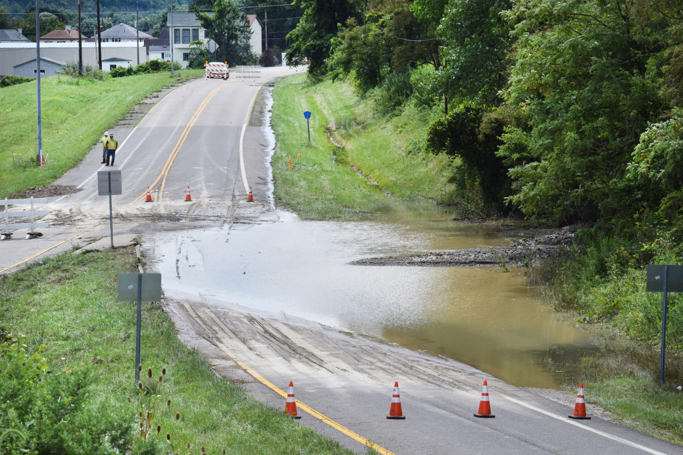 Belmont County Reeling From Flood Damage