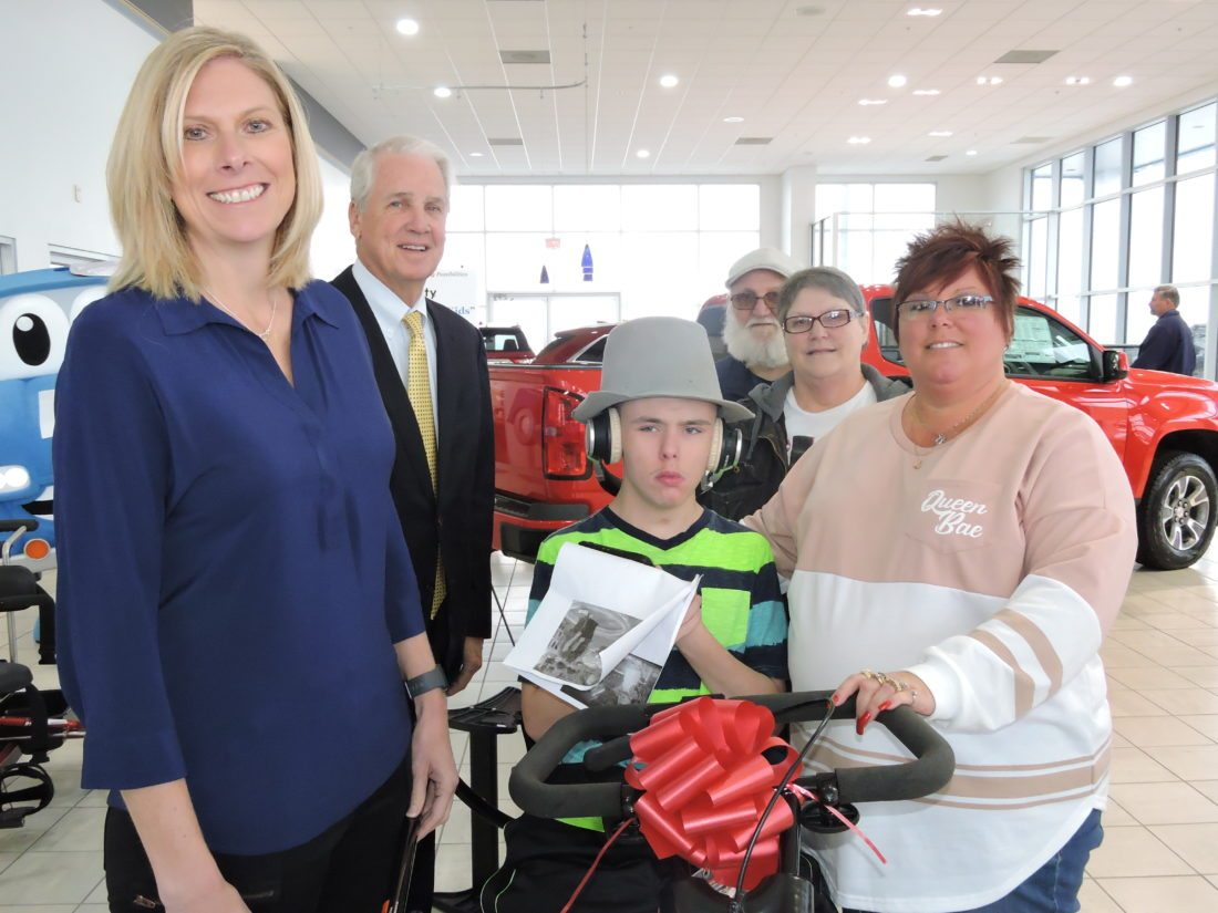 Special-Needs Children Receive New Bikes From Robinson Auto Group in
