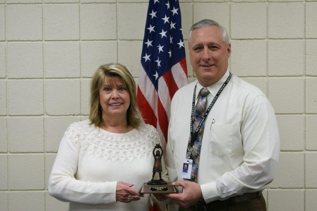 Belmont Career Center Educator Receives Outstanding Teacher