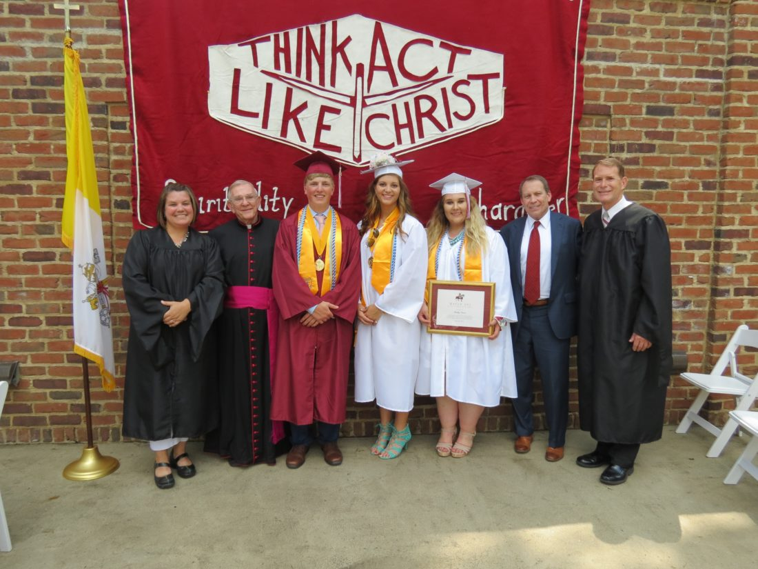 Wheeling Central Catholic High School Graduates 90