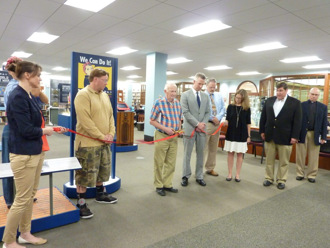 Ohio County Public Library's World War II Exhibit Opening