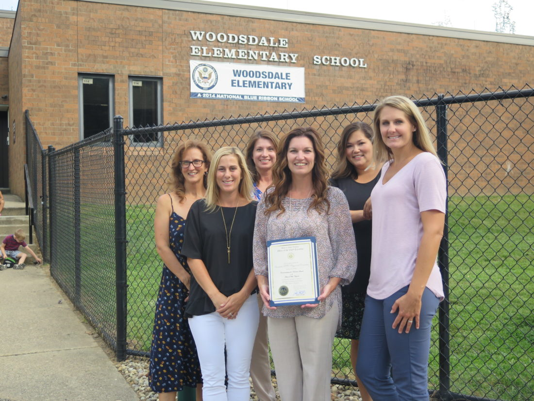 Woodsdale Playground Committee Recognized by W Va  Governor   News