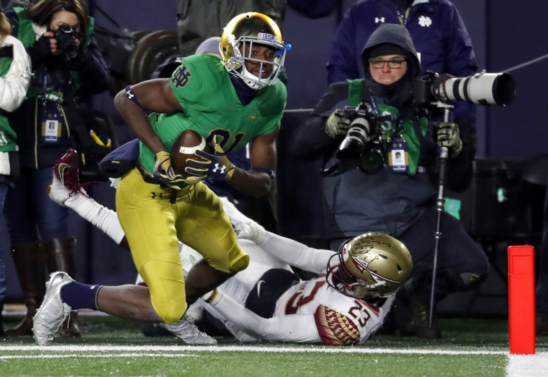 2321fddb9c6 Notre Dame Routs Florida State | News, Sports, Jobs - The Intelligencer