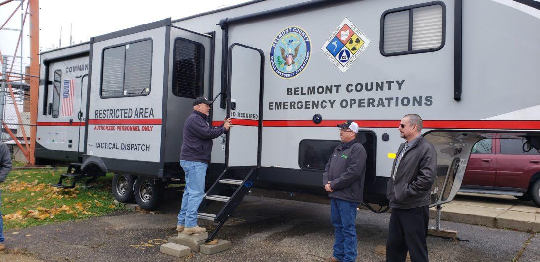 Oil and Gas Firms Donate Response Vehicle to Belmont County
