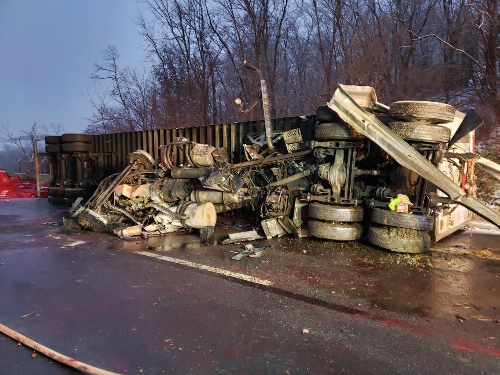 Semi Truck Crash Stalls Traffic for Hours on I-70 | News