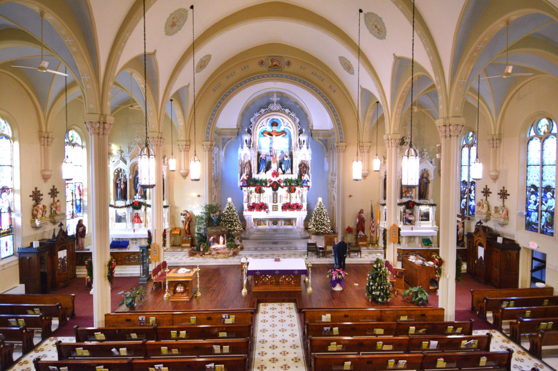 Come Home For Christmas.St Alphonsus Welcomes All To Come Home For Christmas