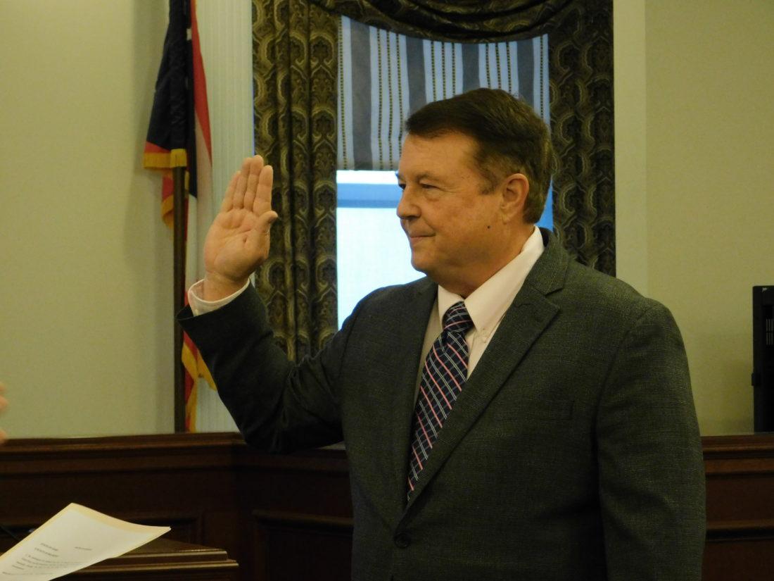 Echemann Takes Oath of Office In Belmont County   News