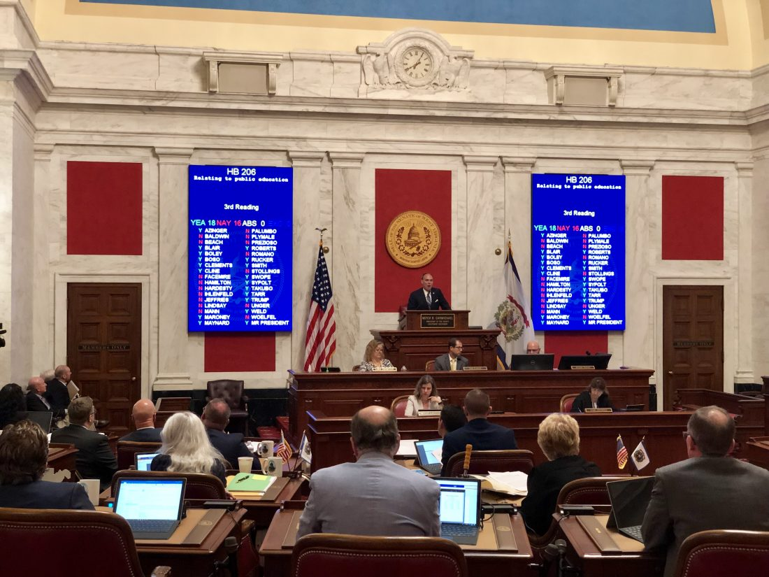 The Privatization Of Special Education >> W Va Senate Passes House Education Omnibus Bill News