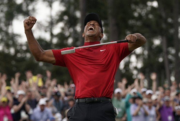 Woods' Comeback at Masters Is AP Sports Story of Year
