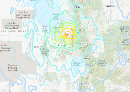 5.7-Magnitude Quake Strikes Near Salt Lake City