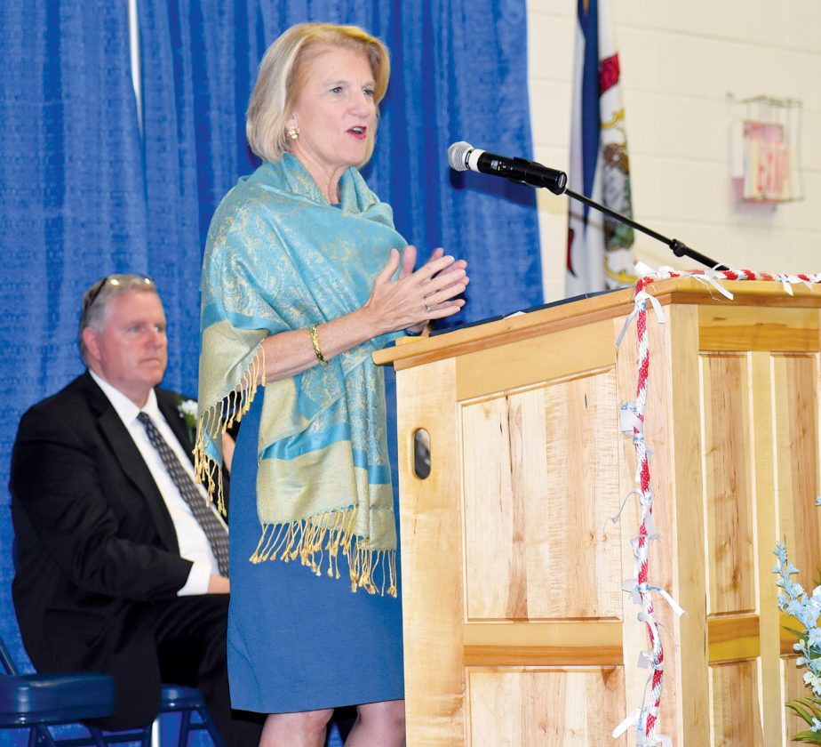 Capito Tells PBHS Grads To 'care For Each Other'