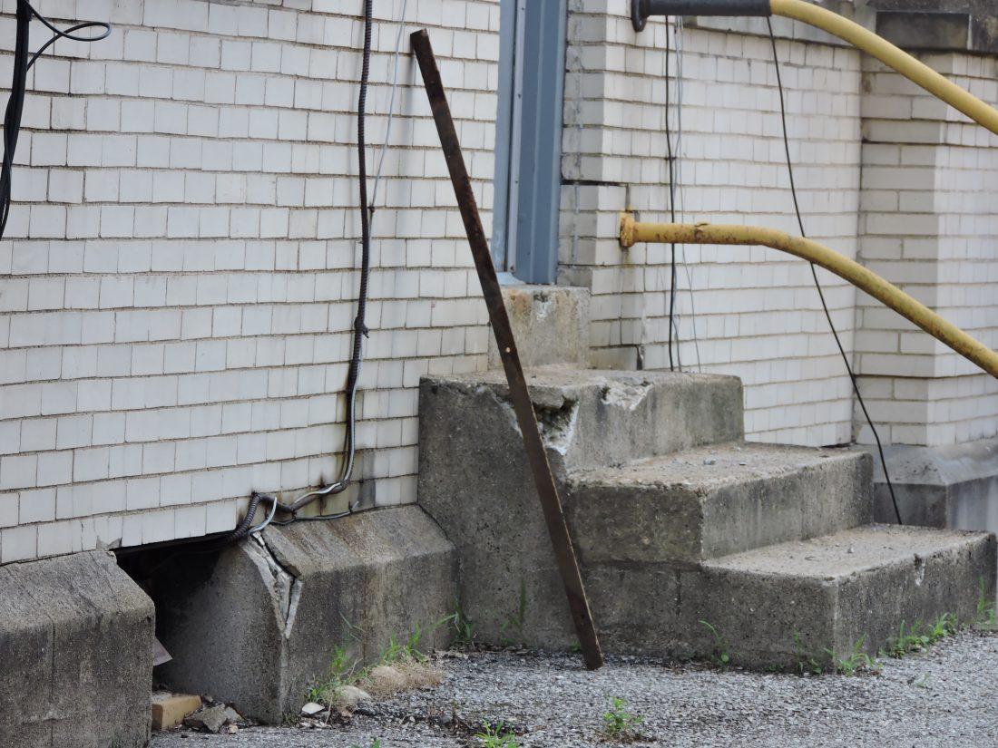 Metal piece plummets from city building   News, Sports, Jobs