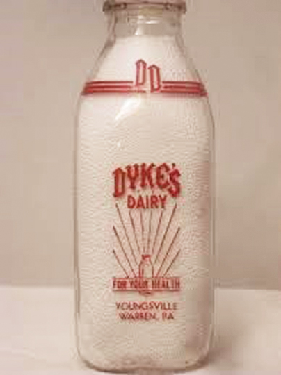 Antiques Study Club learns about antique milk bottles and
