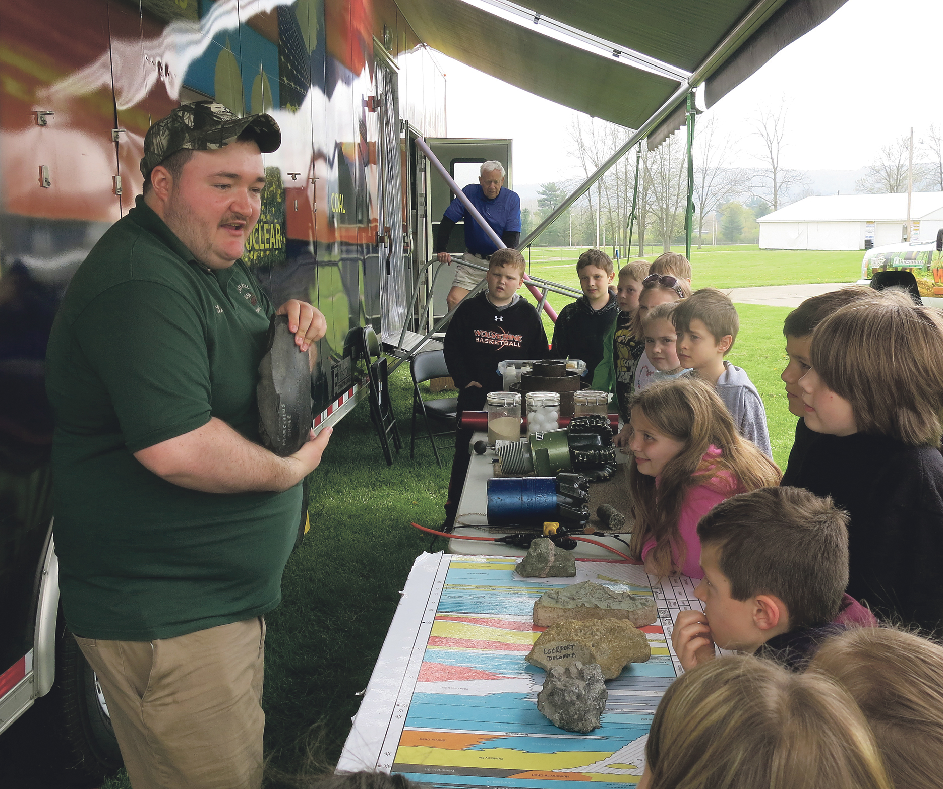 Woodmobile Educates 3rd Graders On Pa Resources News
