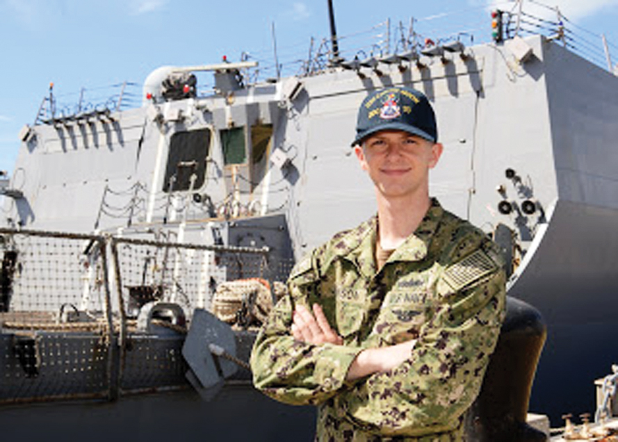WAHS alum reflects on his Warren values from U S  Navy ship