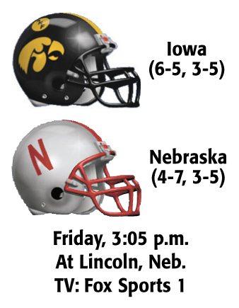 Iowa sputtering ahead of rivalry game vs  Nebraska | News