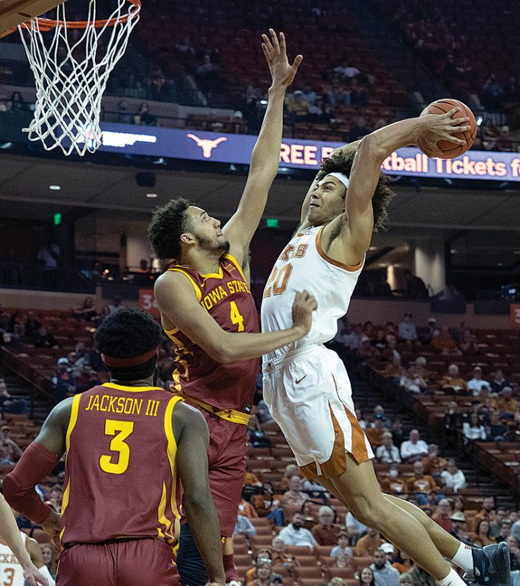 Ramey's 3-Hand Texas Rally to Iowa State 72-68