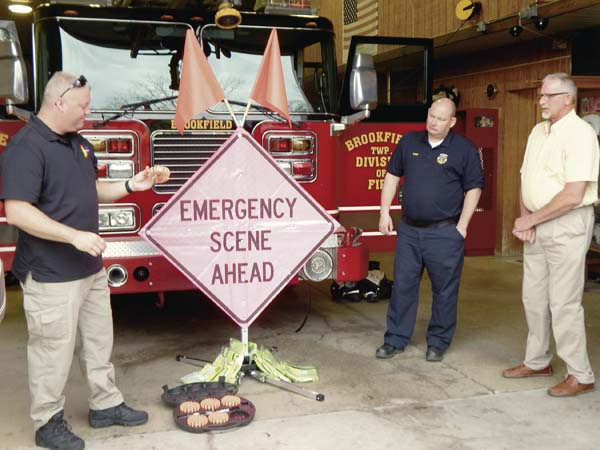 Brookfield gets items for extra safety | News, Sports, Jobs