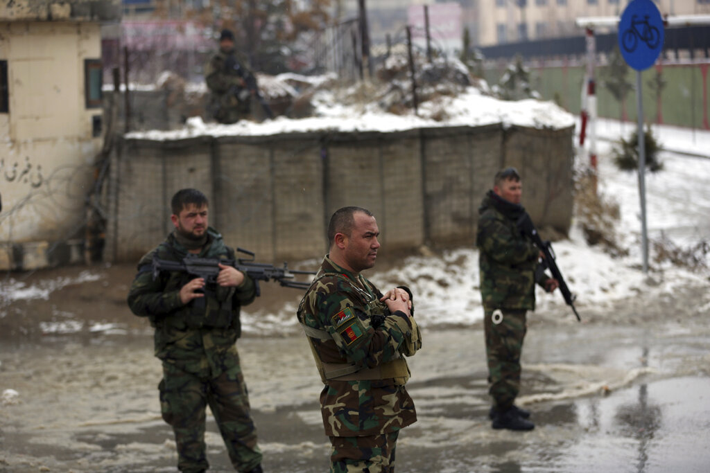 Auto  bomb blast outside military university in Kabul