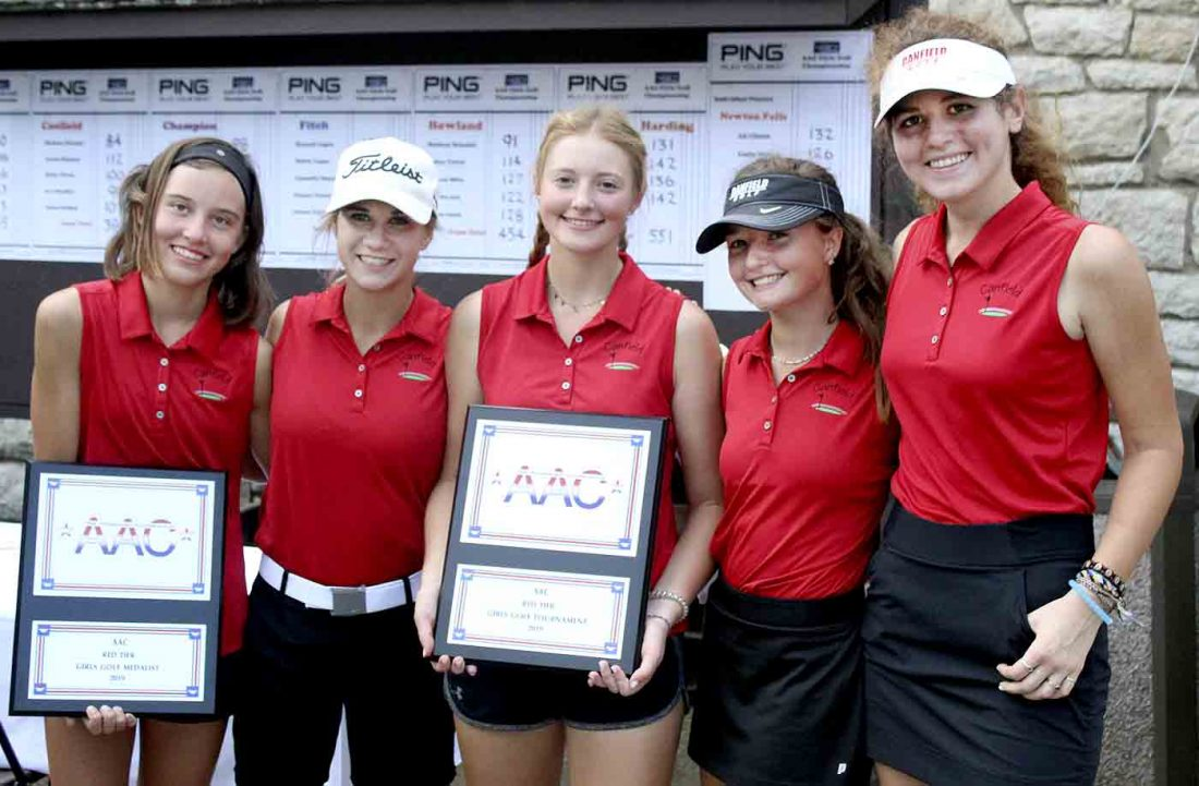 All-American Conference girls golf champs | News, Sports