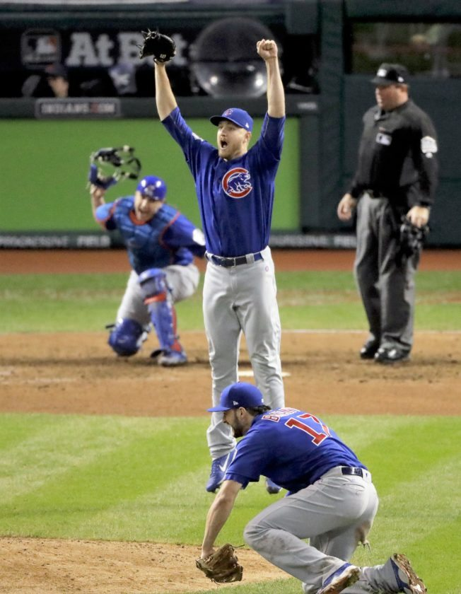 4f36a433dc9 Cubs win 1st Series title since 1908