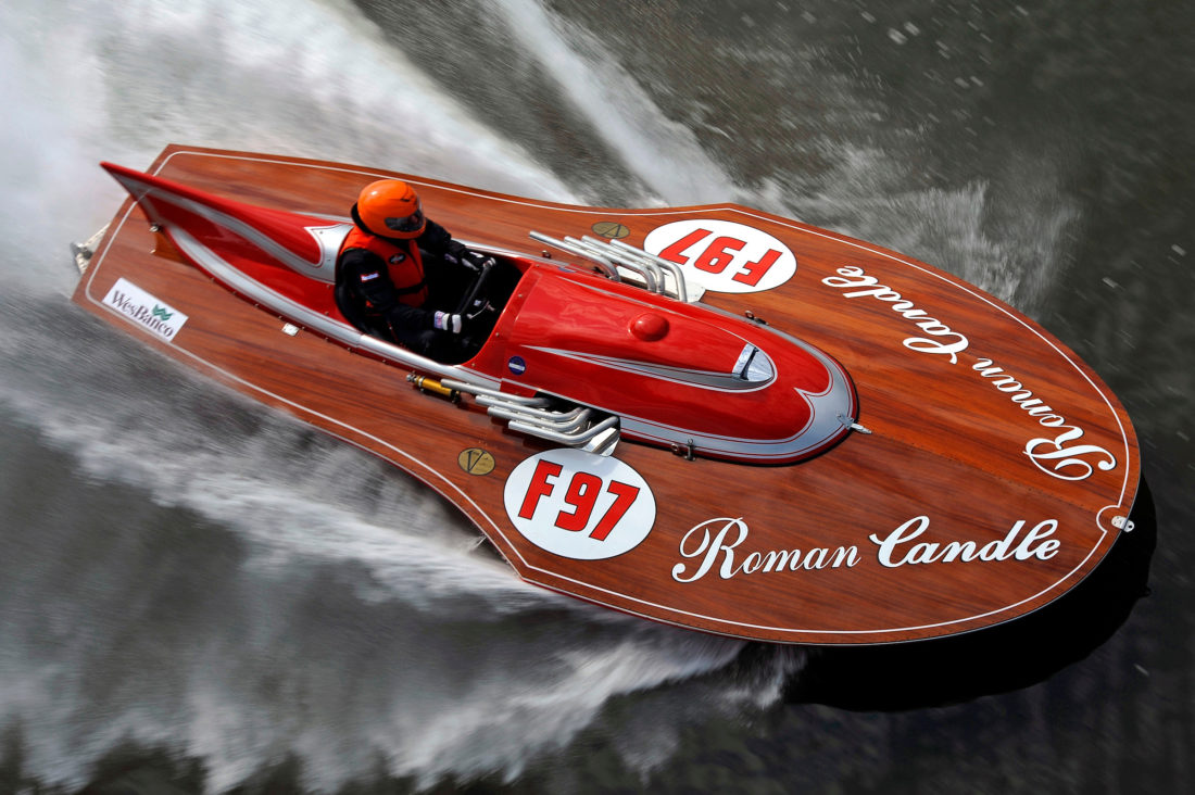 Vintage racing boats will run the river for weekend | News, Sports, Jobs -  Weirton Daily Times