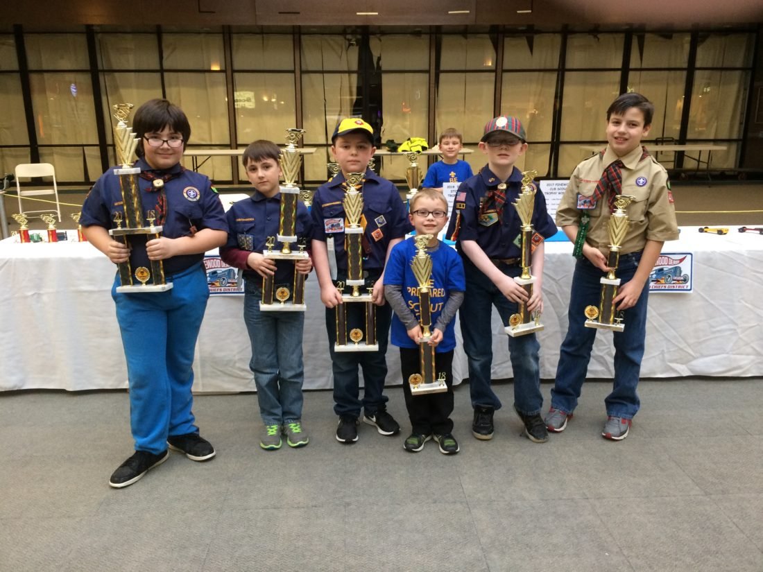 Pinewood Derby Highlights