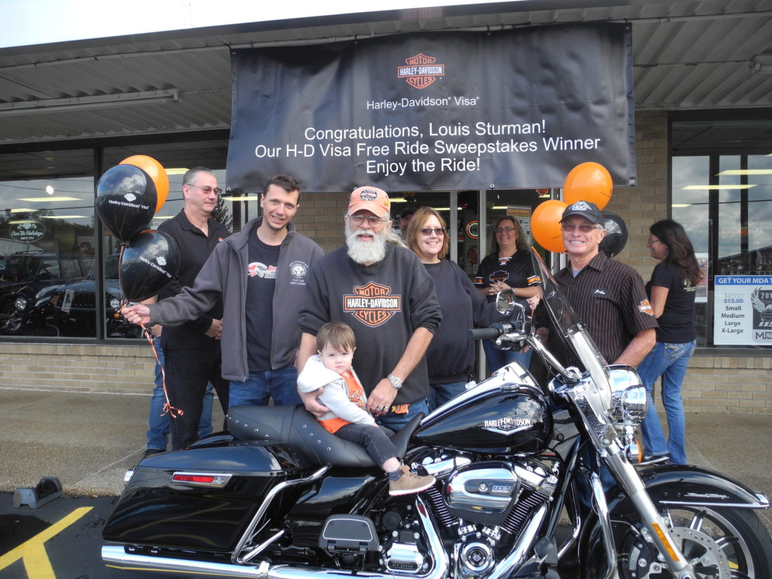 Local Resident Wins New Harley Davidson Motorcycle News Sports