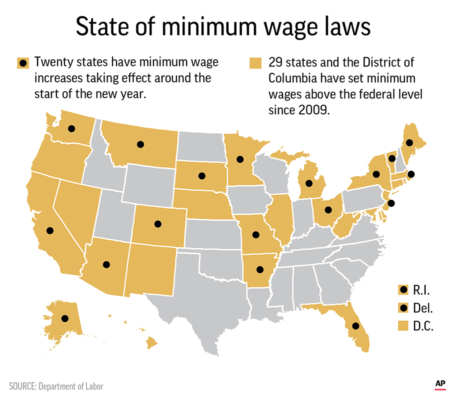 Minimum wage in wv going up