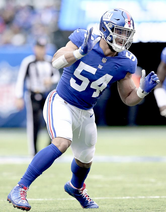 Browns acquire LB Olivier Vernon in trade with Giants