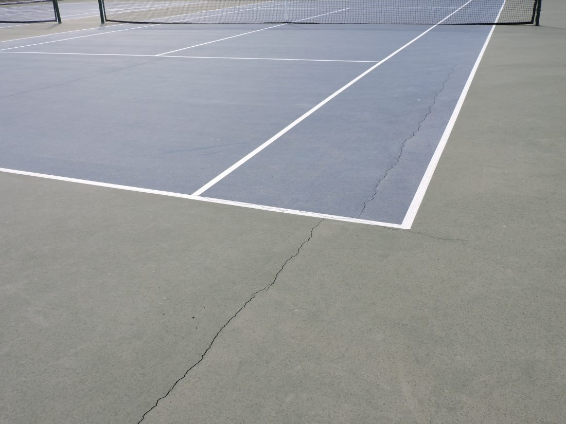 Park Board reviews new cracks in Starvaggi sports courts | News