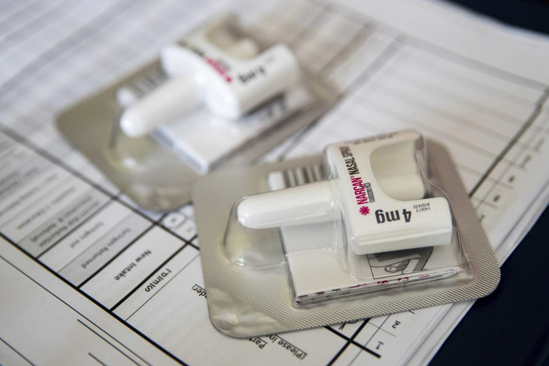 These Oregon counties are using the life-saving overdose drug naloxone