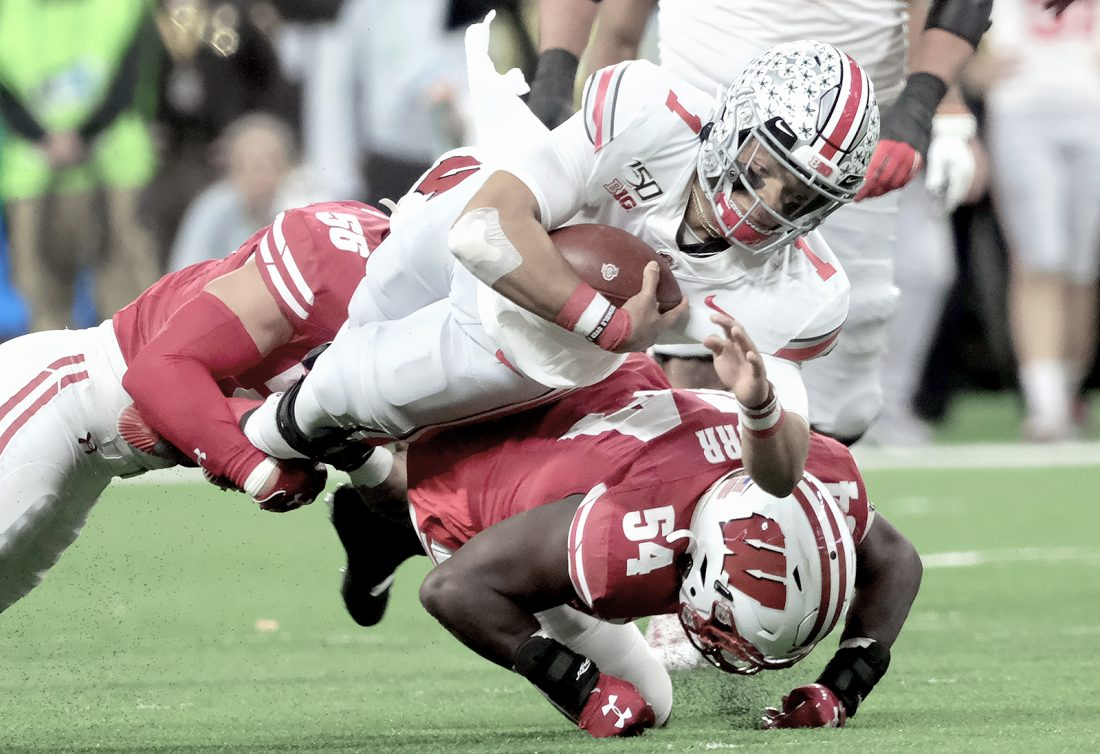 No 1 Ohio State Wins Big Ten Title Over Wisconsin Secures