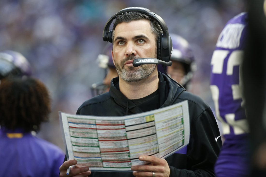 Vikings OC Kevin Stefanski Hired As Browns Head Coach