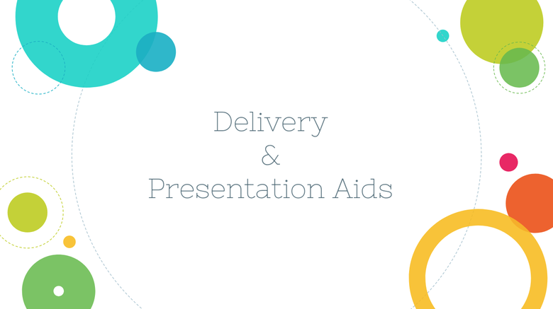 Delivery & Presentation Aids Resources