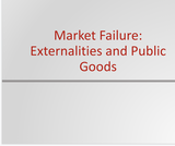 Principles of Microeconomics Course Content, Market Failure: Externalities and Public Goods, Market Failure: Externalities and Public Goods Resources