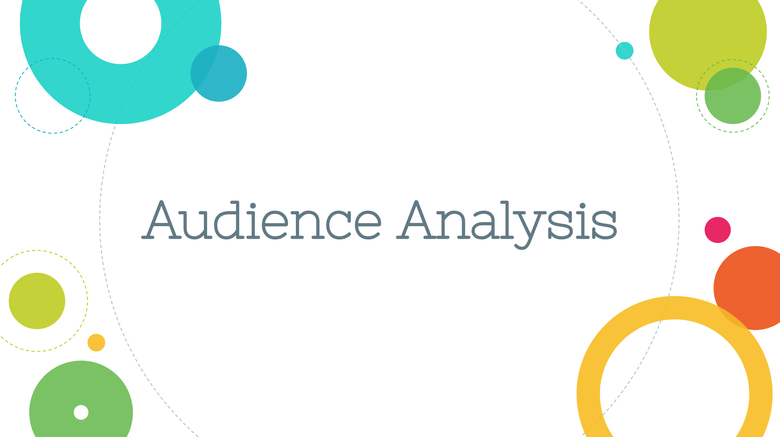 Audience Analysis Resources