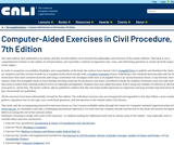 Computer-Aided Exercises in Civil Procedure, 7th Edition