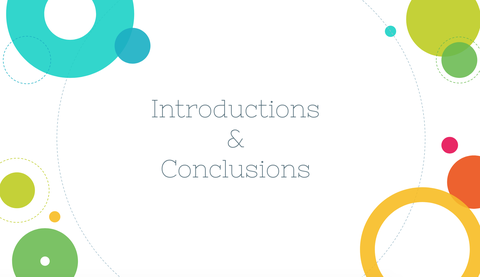 Introductions & Conclusions Resources