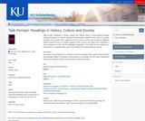Tajik Persian: Readings in History, Culture and Society