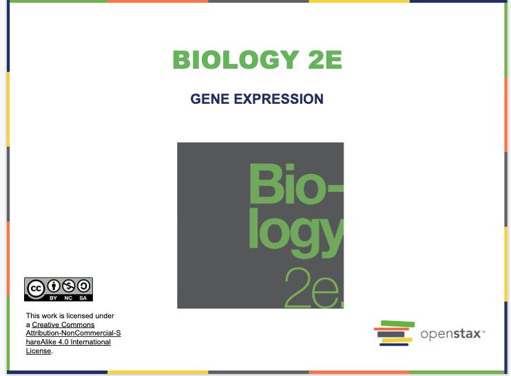 Gene Expression Resources